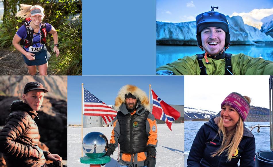 Das Team besteht aus (von links nach rechts) Hollie Woodhouse, Brando Yelavich, Keith Parsons, Bengt Rotmo und Bridget Kruger. Der AHT-Geschäftsführer Nigel Watson, der auch teilnimmt, fehlt auf dem Bild. Bild: AHT